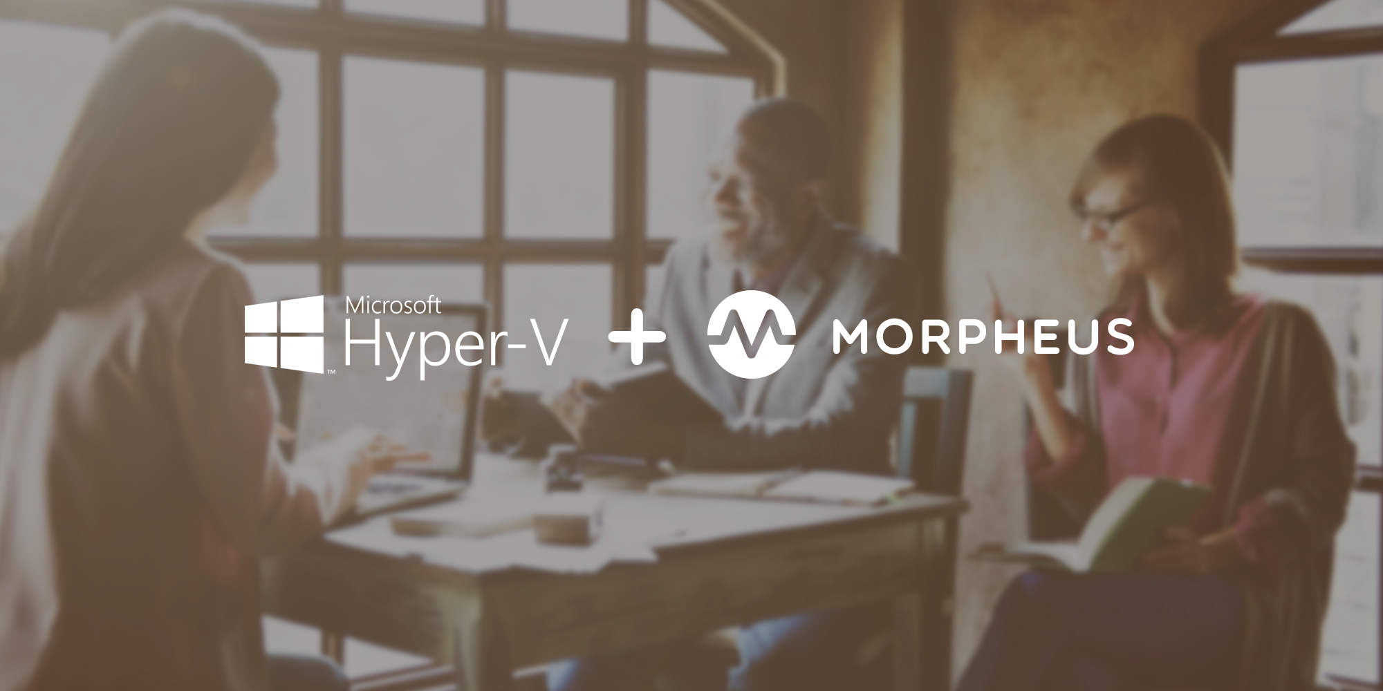 Morpheus Data builds Hyper-V integration